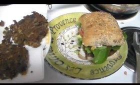 Black Bean Avocado Veggie Burgers