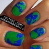 Earth Nail Art