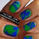 Earth Nail Art