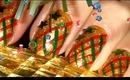 Holiday Star Nails