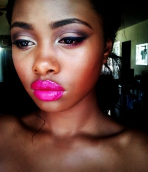 Inspired by the Jessica Stam ad for Covergirl <3 http://thelovelyinc.blogspot.com/2012/07/easy-breezy-beautiful.html