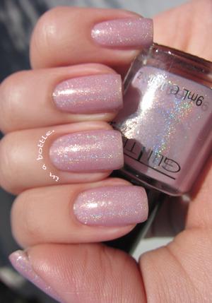 Glitter Gal Blush @gemsinabottle