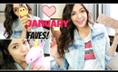 January Favorites 2014!! + Going on TOUR?!?