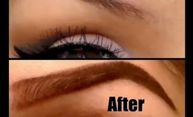 EYEBROW HELP!!! (GRADIENT EYEBROW TUTORIAL)