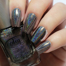 Holographic Tape Nails