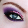 Smokey Purple Eye Makeup