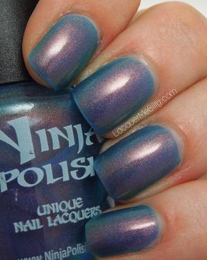 Ninja Polish - Mystic Glacier Full Blog Post: http://www.lacquermesilly.com/2013/05/06/ninja-polish-mystic-glacier/