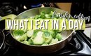 WHAT I EAT IN A DAY : QUICK HEALTHY BREAKFAST, LUNCH AND DINNER MEALS / TUTORIAL   SCCASTANEDA