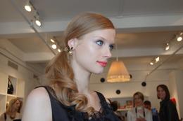 New York Fashion Week, Fall 2011: Rene Furterer at Kate Spade