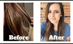 How to Fix Brassy Orange Hair!