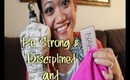 Be Strong & Disciplined + Christmas Gifts