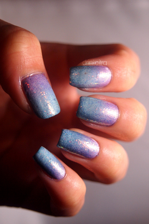 31 Day Naill Challenge: Day 31 Re-create your favorite challenge USED: Essie Play Date, Shine of the Times, and Pure Ice Calypso