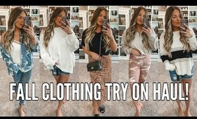HUGE FALL CLOTHING HAUL & TRY ON! | Casey Holmes