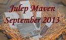 Julep Maven Box September 2013 - Bombshell / SWATCHES / NAIL DESIGN / REVIEW