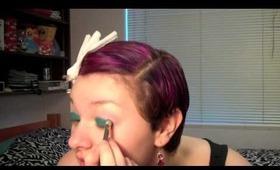 Makeup Tutorial: Teal & Stuff...