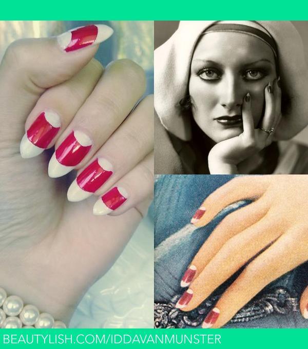 1930 S Vintage Manicure Idda Van Munster V S Iddavanmunster Photo Beautylish