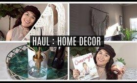 HAUL : Home Decor