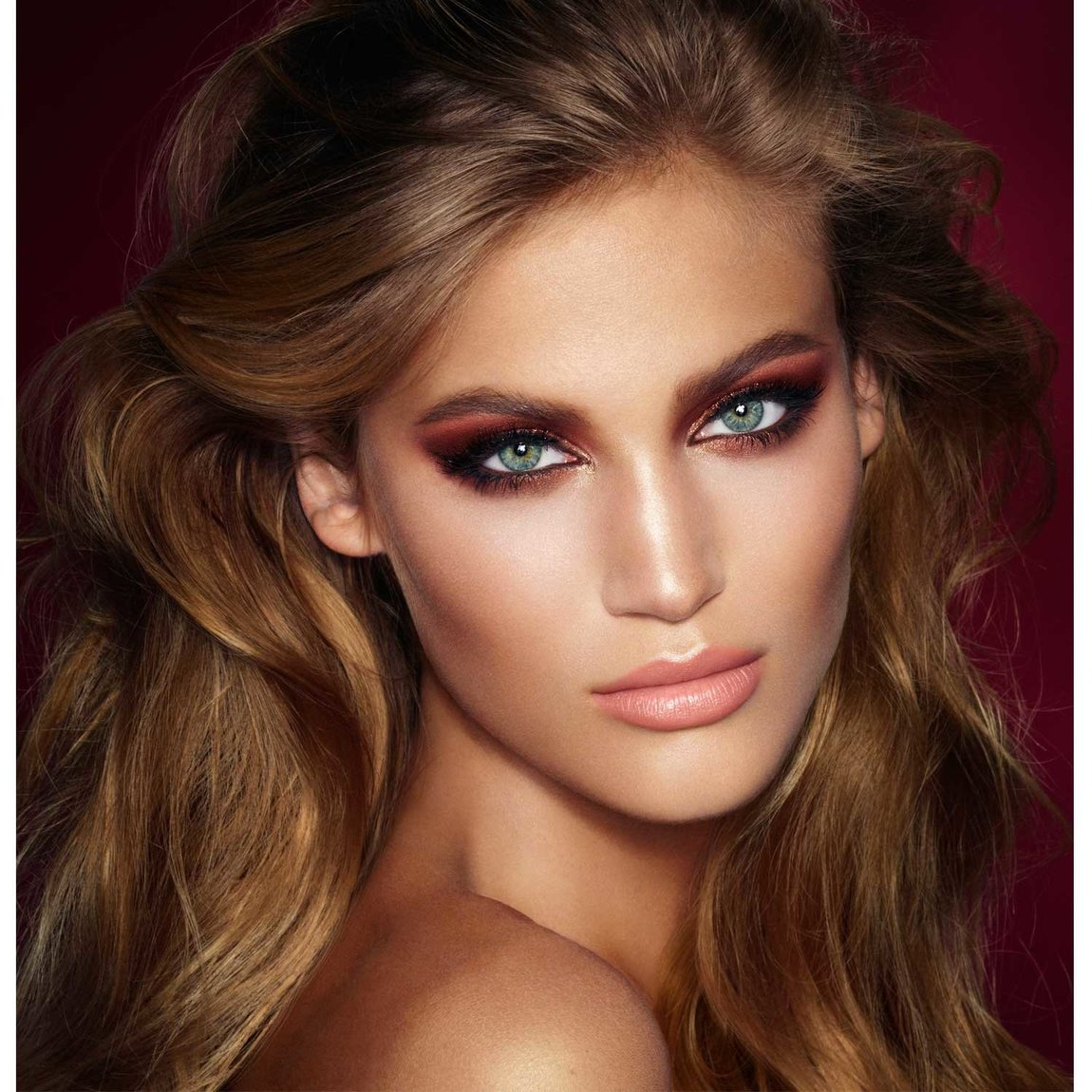 Charlotte Tilbury Get the Look The Bella Sofia (Previously The Dolce Vita) product smear.