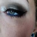 pretty dark grey and blue
