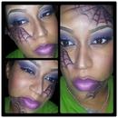 Violet Spider