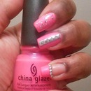 Pink Neon Manicure