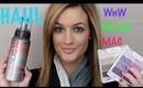 HAUL~MAC Cosmetics, Norvell, NYX, Jessica Simpson
