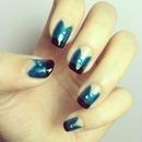 Balmain NYFW inspired nail art