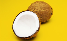 Two-Ingredient DIY Coconut Hair Treatment