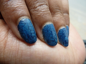 """** OPEN ME TO READ **  Hi Guys,    This is another very easy nail art tutorial.. Well this one is possible if you have an image plate.. I have used the m73 image plate to obtain this design & as you can see I have taken shades of blue..     When I bought my image plates then only KONAD was available but now many dupes have come out which are even more less cost.. I hope you like this video :D..  Have you tried this product?...Do share your views with me..  Thank you so much for watching my video :D.. Your support means a lot to me :)).. Please don't forget to like,share and comment..     to view pictures, visit my blog http://bangalorebengalurublog.blogspot.in/2012/09/tutorial-nail-art-using-konad-image.html     Disclaimer:  I have bought the product's mentioned in the video with my money.. Any reviews/thoughts/etc about it is my own opinion.. I am in no way affiliated with the company..     you might also like: nail polish's that I have reviewed 1. ELLE 18 Color Bomb collection nail polish number 34 review     http://www.youtube.com/watch?v=J2wmLuYKClg 2. review : Earthen Rose nail polish number 68 by COLORBAR     http://www.youtube.com/watch?v=WJVfm2icfS4  other nail art tutorial that I have done 1. Tutorial : Nail Art : Marble Nail Art Effect Without Water     http://www.youtube.com/watch?v=M3TzhX3btmI     to download this song """"Sparkle"""", visit the link mentioned below http://www.vimalkrishna.com/images/music/sparkle-vimal.mp3     like the nail polish seen in this video, check out the review (is in progress)     follow me:  Face Book: http://www.facebook.com/bangalorebengaluru  Orkut: http://www.orkut.co.in/Main#Community?cmm=15170894  E Blogger: http://bangalorebengalurublog.blogspot.in"""