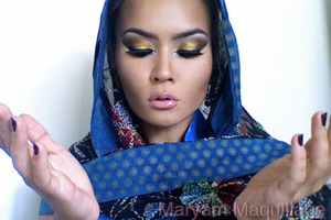 MashAllah   http://www.maryammaquillage.com/2011/10/arabian-nights-arabian-days.html