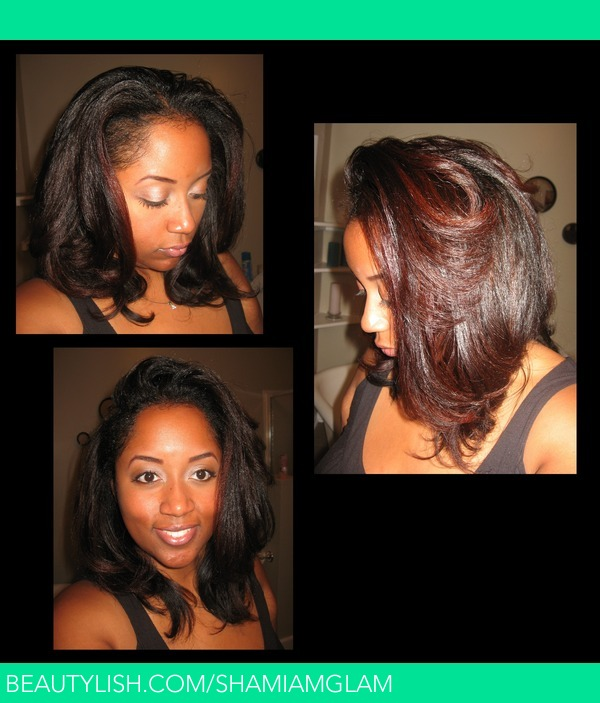 Blow Out Flat Iron On Natural Hair Shamiamglam S