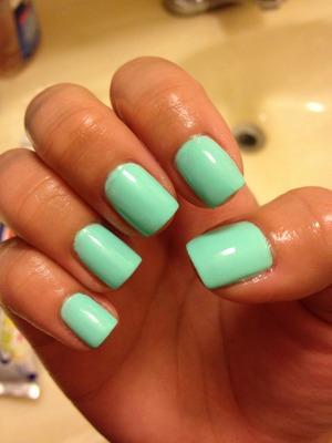 My favorite springtime nail color