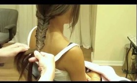Bohemian Style Fishtail Braid: Hair Tutorial: Easy, Quick