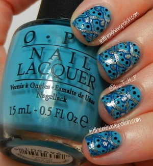 For full details on this look head on over to this post : http://www.letthemhavepolish.com/2013/07/truffle-tuesdays-opi-cant-find-my.html