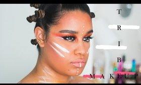 Tribe Make-Up Tutorial