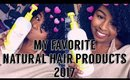 My Favorite Natural Hair Products of 2017