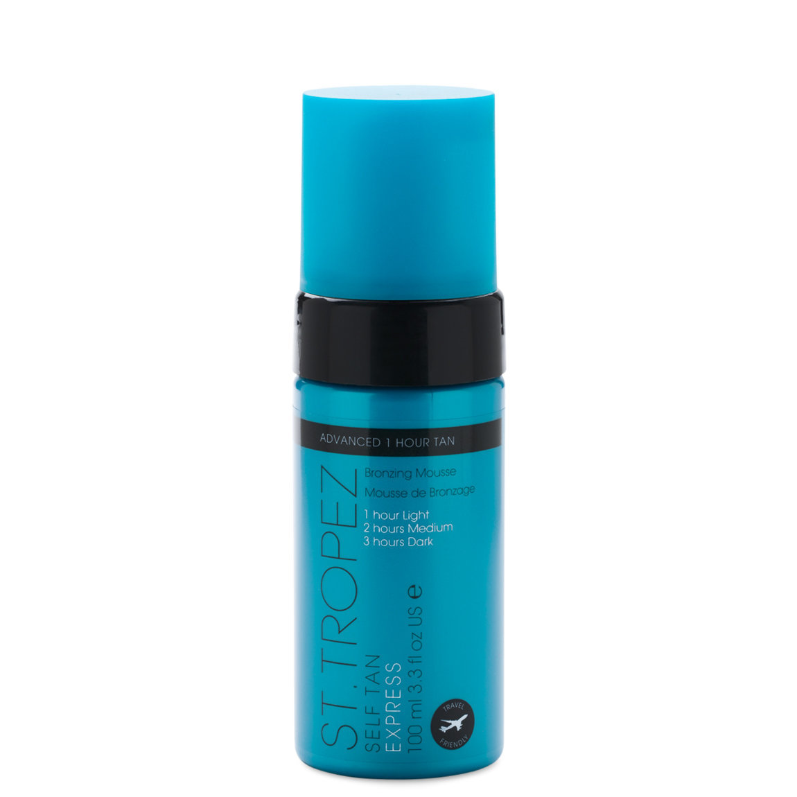 St. Tropez Self Tan Express Advanced Bronzing Mousse 100 ml alternative view 1 - product swatch.