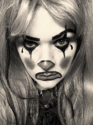 Clown is the 4th makeup tutorial for my 2012 Halloween series. Watch the tutorial here:> http://youtu.be/TBpSFeRXens