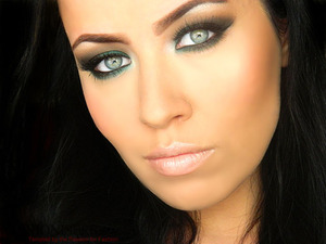 Bridal Makeup To Emphasize Green Eyes.   Beautylish