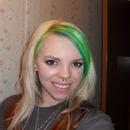 Funky hair ;)