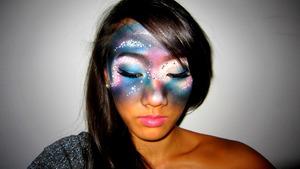 nebula; klairedelysart's look recreated <3
