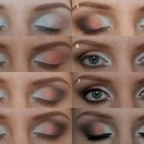 Step By Step salmon peach eye