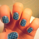 hounds tooth (grr!)