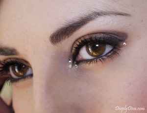 I used Swarovsky & this BP palette http://blush.co/7x