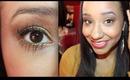 November Birthstone Makeup Look: Topaz/Citrine