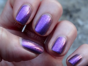 Swatch and review - http://thesortinghouse.co.uk/nails/moon-dust-max-factor-nail-polish/