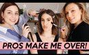 A Makeup & Hair Artist GIVE ME A MAKEOVER! | Jamie Paige