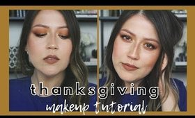 Thanksgiving Makeup Tutorial | Fall Makeup