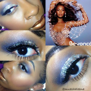 I did this look on Beyonce's birthday Inspired by her Dangerously In Love Album Artwork!