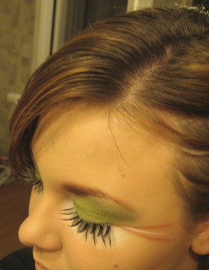 Inspired by a little green spider. :)